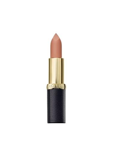 L'Oréal Paris L'Oréal Paris Color Riche Matte Addiction Ruj 652 Stone - Nude Kahve